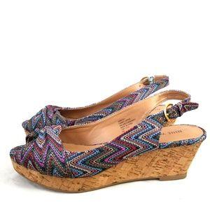 Nine West Size 6 Wedge Back Shoes